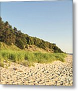 Lake Michigan Dunes 02 Metal Print