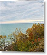 Lake Michigan Fall Metal Print