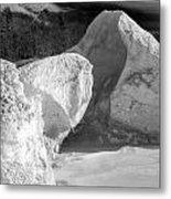 Lake Michigan Ice Viii Metal Print