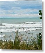 Lake Michigan In Racine Metal Print