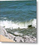 Lake Michigan Shore Metal Print