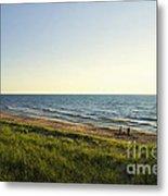 Lake Michigan Shoreline 01 Metal Print