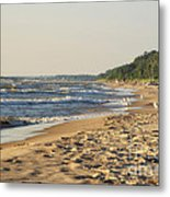 Lake Michigan Shoreline 03 Metal Print