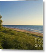 Lake Michigan Shoreline 05 Metal Print