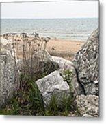 Lake Michigan Shoreline Metal Print