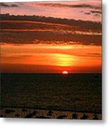 Lake Michigan Sunrise Metal Print