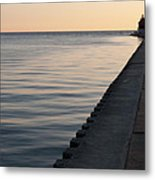 Lake Michigan Sunset Metal Print