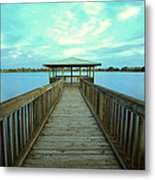Lake Monger Western Australia Metal Print