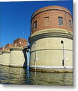 Lake Murray Sc Dam Metal Print