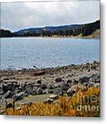 Lake On The Grand Mesa Colorado Metal Print