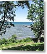Lake Ontario At Webster Park Metal Print