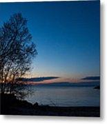 Lake Ontario Blue Hour Metal Print