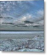 Lake Ontario Snow Metal Print