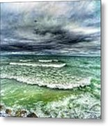 Lake Ontario Waves Metal Print