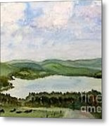 Lake Parker In Glover Metal Print