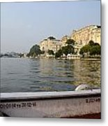 Lake Pichola Metal Print