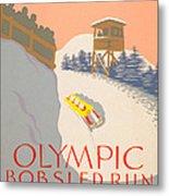 Lake Placid - 1932 Olympics Metal Print