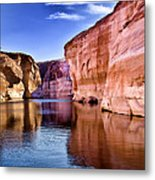 Lake Powell Antelope Canyon Metal Print