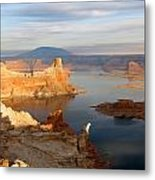 Lake Powell From Alstrum Pt 12 Metal Print