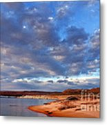 Lake Powell Morning Metal Print by Thomas R Fletcher