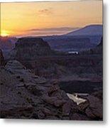 Lake Powell Sunrise  Metal Print