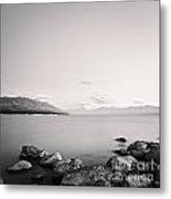 Lake Pukaki And Mount Cook New Zealand. Metal Print by Colin and Linda McKie