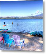 Lake Quinault Dream Metal Print