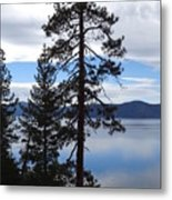 Lake Reflections At Tahoe Metal Print