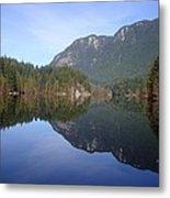 Buntzen Lake, Bc Reflections Metal Print