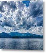 Lake Santeetlah In Great Smoky Mountains Nc Metal Print