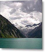 Lake Schlegeis Metal Print