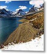 Lake Sherburne Metal Print