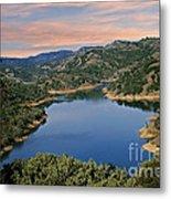 Lake Sonoma - California Metal Print
