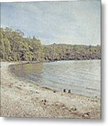Lake St. Clair In Tasmania Metal Print