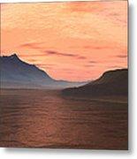Lake Sunset 1 Metal Print