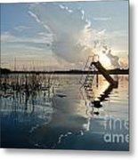 Lake Sunset 5 Metal Print