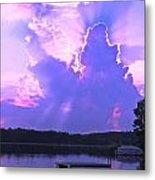 Lake Sunset II Metal Print