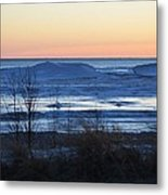 Lake Sunset Metal Print