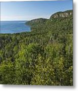 Lake Superior Grand Portage 2 Metal Print