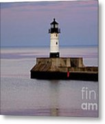 Lake Superior Lighthouse Metal Print