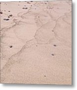 Lake Superior Sandy Beach Metal Print
