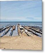 Lake Superior Shipwreck Metal Print