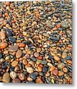 Lake Superior Stones 1 Metal Print