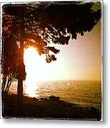 Lake Superior Sunrise Metal Print