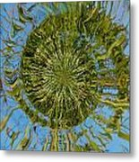 Lake Swirl Metal Print