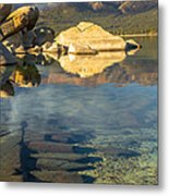 Lake Tahoe Clarity Metal Print