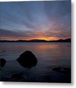 Lake Tahoe Dawn Metal Print