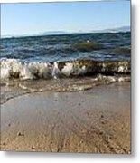 Lake Tahoe From South Beach Metal Print