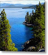 Lake Tahoe From The Rubicon Trail Metal Print