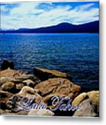 Lake Tahoe Magic Metal Print